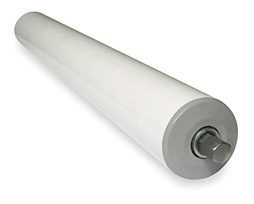 PVC Plastic Roller, 1.9In Dia, 15BF by Ashland Conveyor (Image #1)