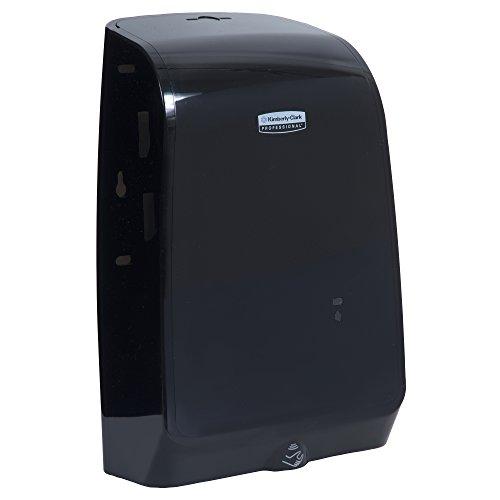 Kimberly Clark Professional MOD Electronic Touchless Cassette Skin Care Dispenser (32504), 1.2 Liter, Smoke (Black), 1 / Case