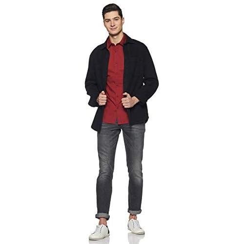 31938I10HrL. SS500  - Amazon Brand - Symbol Men's Casual Regular Fit Shirt
