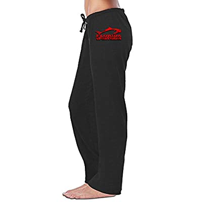 Wesley Florida Sportman Women's Athletic Yoga Pant Black