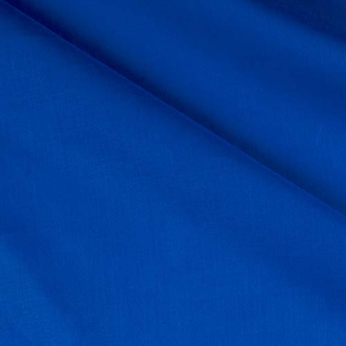 Ben Textiles 60in Poly Cotton Broadcloth Ocean Blue Fabric by The Yard,]()