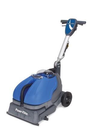Powr-Flite CAS16 Powr-Scrub Automatic Scrubber, 750 rpm, 16''
