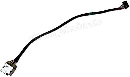 HQMETPARTS Supplies for DC Power Jack Harness Cable for HP 15-g088ca 15-g090nr 15-g099nr 15z-g000 CTO