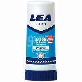LEA - Barra de Jabon de Afeitar Premium Shaving Soap con Glicerina y Lanolina - 50 g