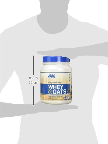 Optimum Nutrition On Whey & Oats Protein Powder