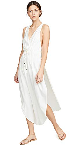 (LSpace Women's Kenzie Cover Up, Cream, Off White, Small )