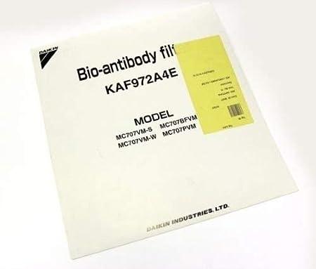 Daikin para purificador de aire Filtro de repuesto bio-anticorps ...