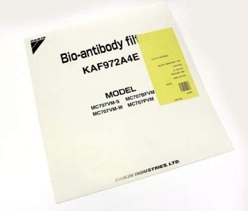 Kaf-979b4 (Successor to Kaf972a4 · Kaf979a4) Antibody Filter Replacement Filter Bio Daikin Daikin Air Purifier