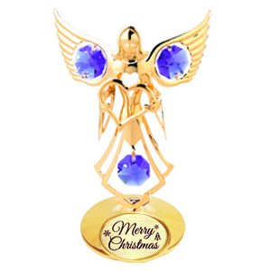 24K Gold Plated Angel w/ Heart with Logo
