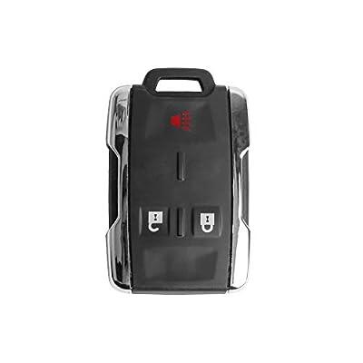 Keyless Entry Remote Car Key Fob Alarm for 2014-2016 Chevy Colorado Silverado/GMC Canyon Sierra M3N-32337100 13577771 Pack of 1: Automotive