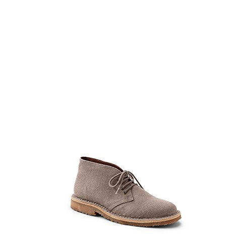 Lands' End Canvas Women's Sustainable Booties, 6.5, Cocoa