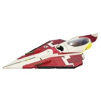 Star Wars Hasbro Naves Obi-Wan Starfighter - Nave espacial de juguete de La Guerra de las Galaxias: Amazon.es: Juguetes y juegos