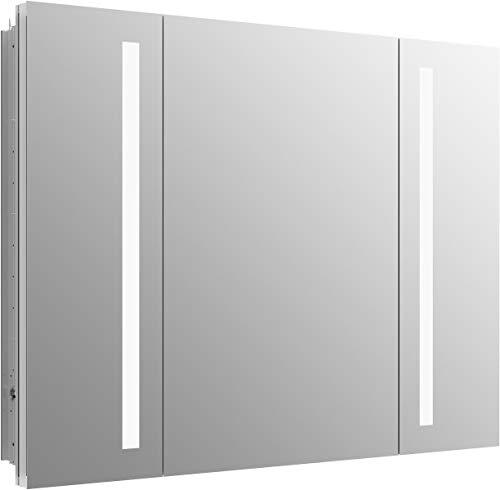 (Kohler 99011-TLC-NA Verdera Lighted Medicine Cabinet, Aluminum)