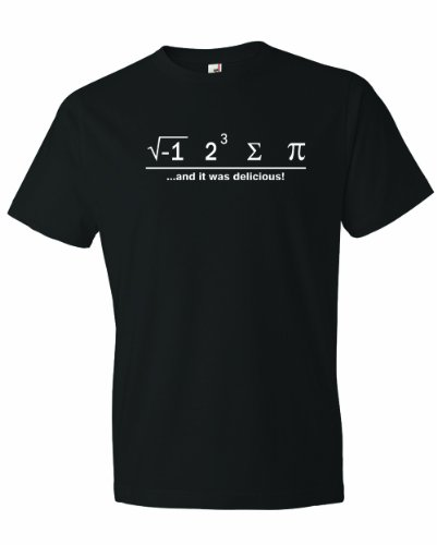 Men's I Ate Some Pie And It Was Delicious Math Ate Sum Pi T-Shirt