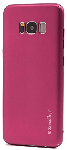 - Samsung Galaxy S8 Case, Maxessory [Operative] Ultra-Thin Full-Body Lightweight Impact Slim Hard-Back Protective Premium Drop-Proof Plain Shell Cover Pink For Samsung Galaxy S8 2017