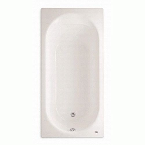 American Standard 2470.002.020 Stratford 5-1/2-Feet Bath Tub, White (Whirlpool Reversible Tub Bath Finish)