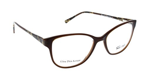 FABIO CIELO (# 5855) Italian Design Eyeglasses 50mm, Elegant Ladies/ Women RX Prescription Optical Frames Authentic Glasses Includes Case, Design In Italy - Italian Eyeglasses Mens
