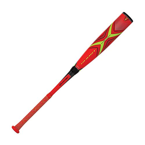 EASTON Ghost X Evolution -10 (2 5/8) USA Youth Baseball Bat | 2019 | 2 Piece Composite | CXN Evolution | EXACT Carbon | Speed End Cap | Lizard Skin Grip