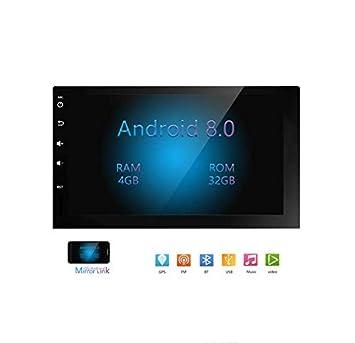 Hahaiyu Android 8,0 Coche Uso del Coche Radio estéreo de 7 ...
