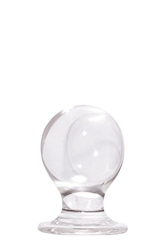 NS Novelties Jolie Orbite Large Plug, Clear