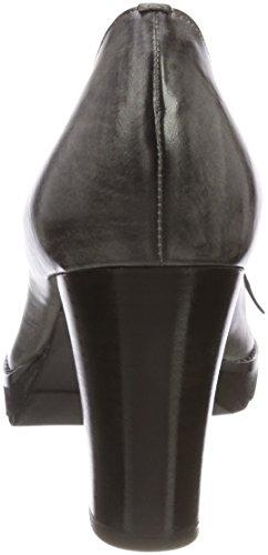 Calpierre Damen Da88-b Pumps Grau (grigio/nero Grigio/nero)