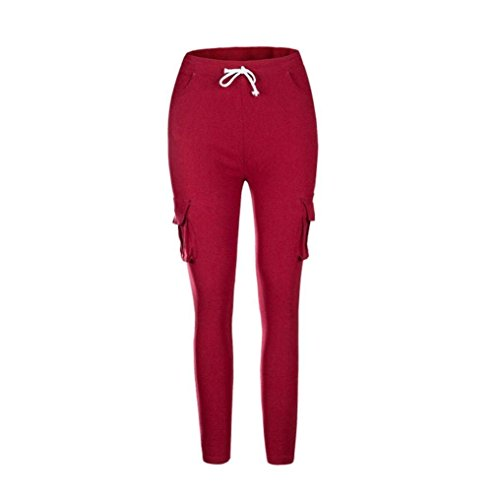 Libero Sportivo Tempo Damigella Sportivi Outdoor Vino Accogliente Rosso Pantaloni Pants Lannister Palestra Estivi Prodotti Pantalone Training Harem Plus qHB6wFB