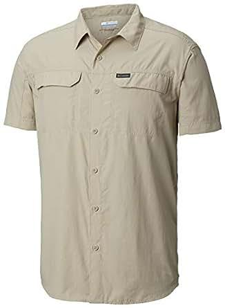 Columbia Men's Silver Ridge™ 2.0 Short Sleeve Shirt, Ancient Fossil, Small