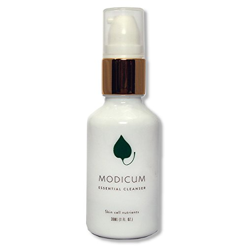 Modicum Skincare Essential Cleanser 100 natural, organic face wash for all skin types, including oily, dry and sensitive skin foamer pump bottle 30 ml