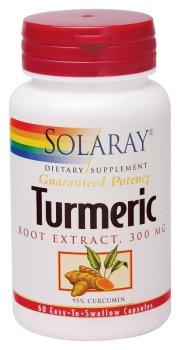 Extrait de racine de curcuma, 300 mg, 60 gélules