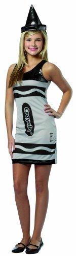 Rasta Imposta Crayola Tank Dress, Black, Teen 13-16 -