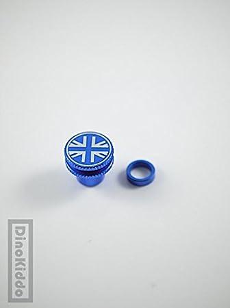 Union Blue Jack - Pomo de rosca para suspensión o tija de sillín para bicicleta plegable