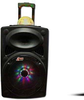 12-Inch Portable Trolley Speaker Wireless Bluetooth Audio Sq