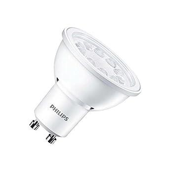 Bombilla LED GU10 CorePro spotMV 5W 60° Blanco Cálido 3000K efectoLED: Amazon.es: Iluminación