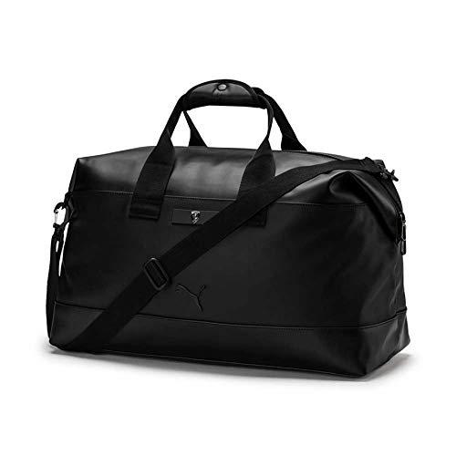 Red Cat Racing Handle - PUMA - Scuderia Ferrari Lifestyle Weekender Bag, Black