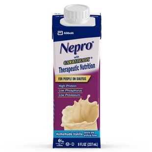 Nepro Liquid Nutrition  Homemade Vanilla  8 Ounce Case Of 24 Containers