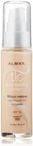 Almay Truly Lasting Color Liquid Makeup, Naked