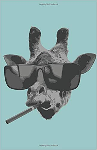 planner 2019 daily planner cool giraffe with sunglasses 365 pages