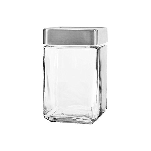 Anchor Hocking 85754 Stackable 1.5 Qt Jar w/Aluminum Lid