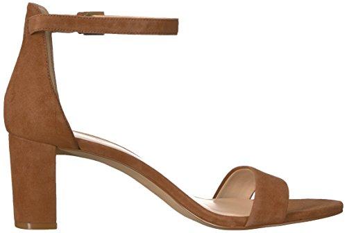 Nine West Women's Pruce Suede Heeled Sandal Brown (Hazel) under $60 sale online sale popular free shipping official sale view knaTXdb