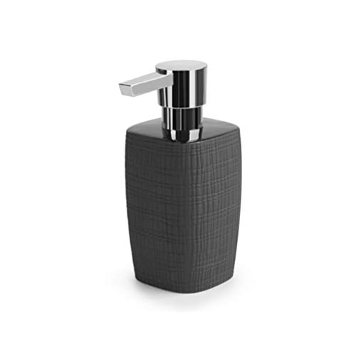 Rong Shower Pump Ceramic Soap Dispenser, Refillable Liquid Hand Pump Bottle Suitable for Kitchen and Bathroom…