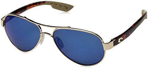Costa Del Mar Women's Loreto Aviator Sunglasses