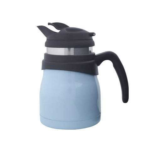 - Timolino PCE-52VTEGPB 20-Ounce Travette Coffee and Tea Maker, Pastel Blue