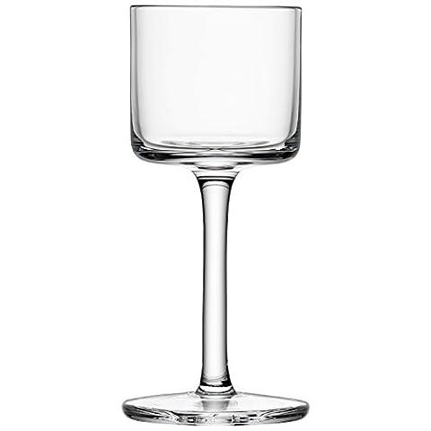 LSA International Lulu Liqueur Glass 1.7-1.8 fl oz Clear Assorted x 4