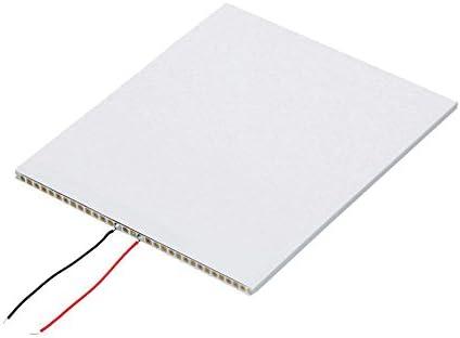JIANGJINLAN LDTR-FD01 DIY Lumière Blanche Affichage à LED Panneau de Guidage de lumière for Panneau de rétroéclairage LGP for for - Blanc