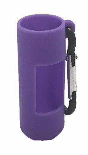 Purple Silicone Holder Clip For 10ML Essential Oil Roller Bottles - Roller Holder