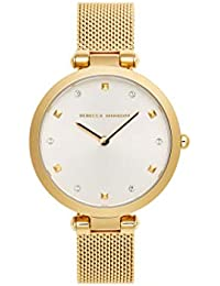 Women's Quartz Watch with Stainless Steel Strap, Gold, 13 (Model: 2200300)
