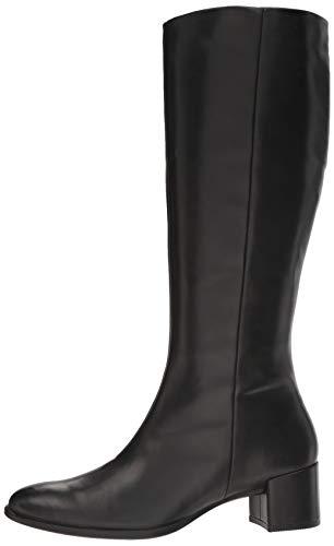 Schwarz Tall black Boot Donna Shape 1001 Alti Block Ecco 35 Stivali TwUx8nAq