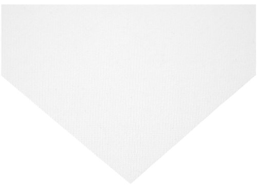 Nylon 6 Woven Mesh Sheet, Opaque White, 12'' Width, 12'' Length, 70 microns Mesh Size, 41% Open Area by Small Parts