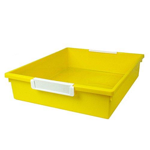 Romanoff 6qt Yellow Tattle Tray Wlabel Hold