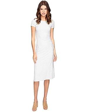 Theory Womens Jilaena Ribbed Viscose Dress